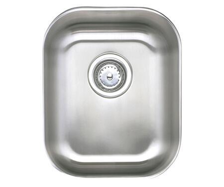 KPU1618-7 Komponents Series Stainless Steel Single Bowl Undermount