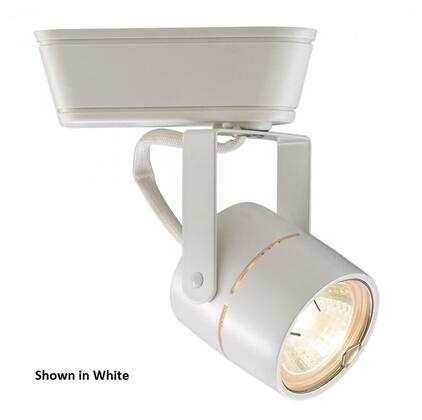 HHT-809-BN  H Track 50W Low Voltage Track Head with Swivel Yoke  Clear Lens and Die-cast Aluminum Construction in Brushed