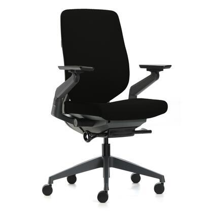 FMI10275-BLACK BackComfort Office Chair