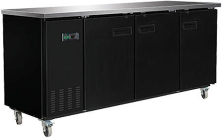 MXBB90 Freezer with 25.3 cu. ft.  Recessed Sliding Door Handle  Aluminum Interior  White Exterior  Light  Temperature Display  Front Facing Drainage  Front