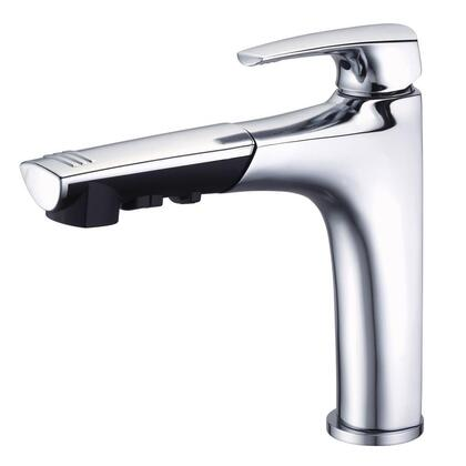 D456710 Taju Single-Handle Pull-Out Sprayer Kitchen Faucet in