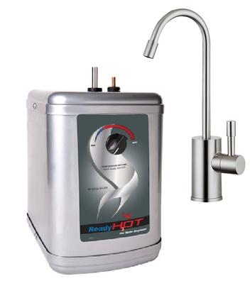 RH-200-F570-BN Stainless Steel Hot water Dispenser System with Brushed Nickel Single Lever