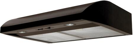 AB30BL 30 inch  Under Cabinet Range Hood with 250 CFM  Lighting  in
