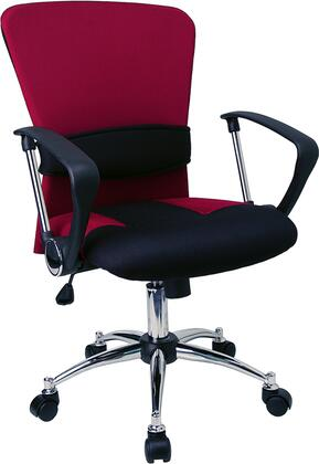 Click here for Flash Furniture LF-W23-RED-GG Red Chrome Metal Off... prices