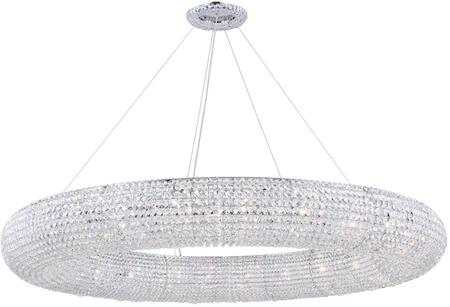 2114G59C/RC 2114 Paris Collection Chandelier D:59In H:6.5In Lt:24 Chrome Finish (Royal Cut