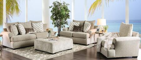 Anthea SM5140-SFLVCHOT 4-Piece Living Room Sets with Sofa  Loveseat  Chair and Ottoman in