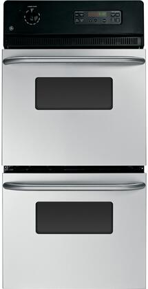 "GE Built-In 24"" Double Electric Wall Oven Silver JRP28SKSS"