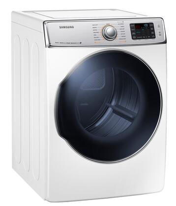 DV56H9100EW 9.5 cu. ft. Front Load Electric Dryer with 15 Drying Cycles  Sensor Dry  Steam Cycle  Dryer Drum Light and Reversible Door  in 350096