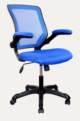 RTA-8050-BL Techni Mobili Mesh Task Chair with Flip-Up