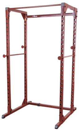 BFPR100 Best Fiteness Power Rack with Integrated Chinning Bar and Full-Length Saftey
