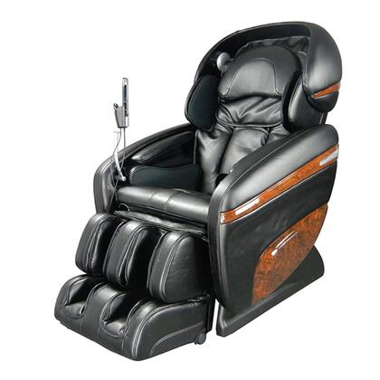 OS-3D PRO DREAMER BLACK Massage Chair with 3D Massage  2 Stage Zero Gravity  2nd Generation S-Track  Accupoint Technology and MP3 Player Connection in