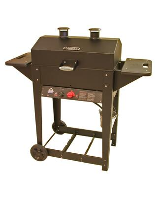 BH421AG9 50 inch  Liberty Liquid Propane Grill with Cast Iron Burner  Stainless Steel Cooking Grid  Aluminum Drip Pan  and No-Flareup