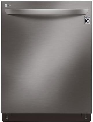 LG LDT7808BD 24 Inch Built In Dishwasher with 10 Wash Cycles, 15 Place Settings