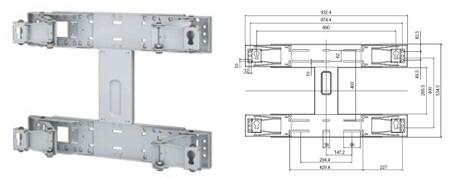 WMN-5770D Wall Mount Kit for 400CXn 40