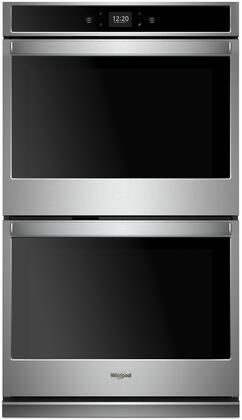Whirlpool WOD51EC0HS 30 Stainless Double Electric Wall Oven