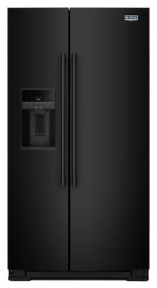 "MSS26C6MFB 36"""" French Door Refrigerator with 25.59 cu. ft. Capacity  LED Lights  Ice Dispenser  Counter Depth  in"" 733604"
