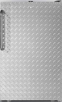 FS408BL7BIDPL 20 inch  Upright Freezer with 2.8 cu. ft. Capacity  Factory Installed Lock  Manual Defrost  Pull-Out Drawers and Reversible Door  in Diamond