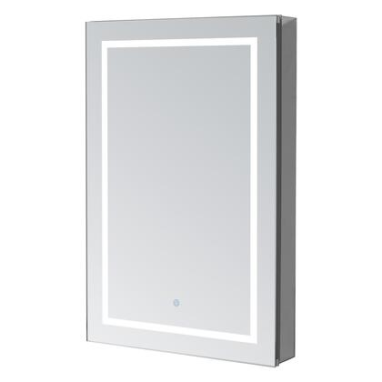 Signature Royale Plus RP2430R 24 inch  x 30 inch  Mirror Cabinet with Touch Control LED Lights  Electrical Outlet  Blum Hinges and 5mm Copper Free Mirror Glass: Right