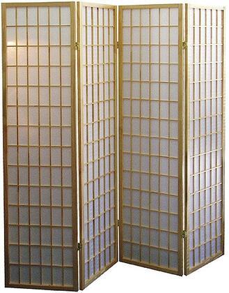 50138-NT Shoji Style 70.5 x 68 4 Panel Room