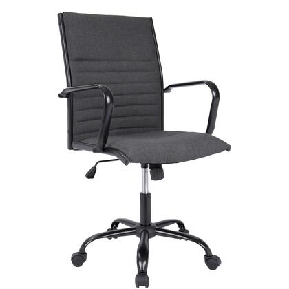 OFC-AC-MSTF CHA Master Contemporary Fabric Office Chair in