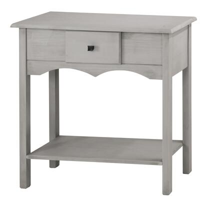 "CS50205 Jay 31.49"" Tall Sideboard with 1 Full Extension Drawer in Gray"