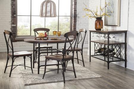 Furniture Of America Carrera Contemporary Black Dining