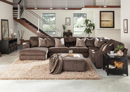 Serena Collection 2276-75-30-59-42-2747-21/2782-21/2784-28/2785-28 166 inch  4-Piece Sectional with Left Arm Facing Chaise  Corner Section  Armless Sofa and Right