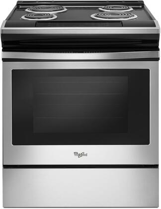 Whirlpool WEC310S0FS 4.8 Cu. Ft. Stainless Electric Coil Range