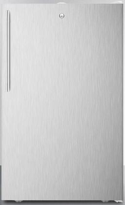 FF511LBI7SSHV 20 inch  Medical  Commercial Freestanding or Built In Compact Refrigerator with 4.1 cu. ft. Capacity  Door Lock  Hospital Grade Cord  Crisper and