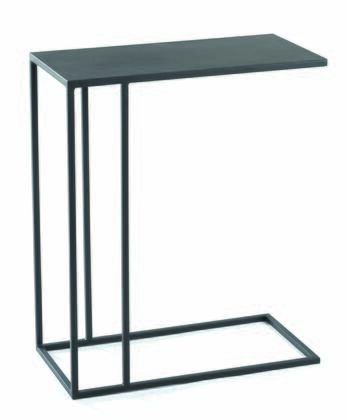 16560.08.132 Urban C-Table With Solid Steel Rods  Steel Plate Tops & In