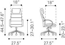 205317 Lider Comfort Office Chair