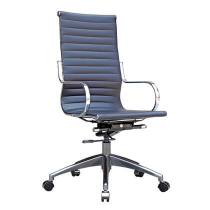FMI10227-BLACK Twist Office Chair High Back