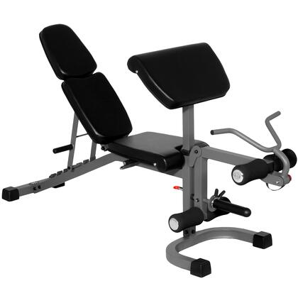 XM-4418 XMark FID Flat Incline Decline Weight Bench with Arm Curl and Leg