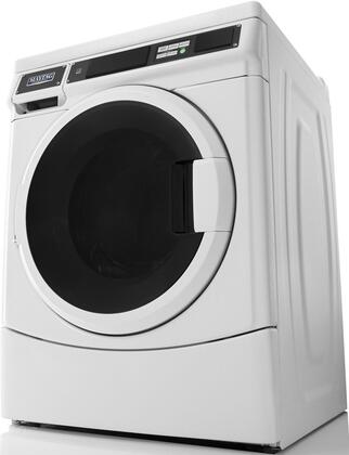 """MHN33PRCWW 27"""""""" Commercial Energy Star Front Load Washer with 3.1 cu. ft. Capacity  Card Reader  Advanced Spin Technology  Duracore Drive System  Intelligent"""" 704548"""