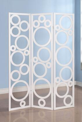 98025 Trudy - 3-Panel Wooden Screen