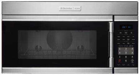 Professional E30MH65QPS 30 inch  Over-the-Range Microwave with 9 Power Levels  Charcoal Filter  Premium Non-tick Coating  5 Auto Cool  3 Auto Defrost Options