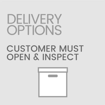 Customer Must Open and Inspect Product Otherwise Assumes All