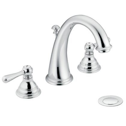 T6125 Kingsley Two-handle High Arc Bathroom Faucet in