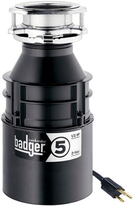 76037A Badger 5 Garbage Disposal with 1.5 Horsepower  1725 RPM  Quick Lock Sink Mount Food Disposer with