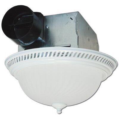 DRLC703 Decorative Round Fan/Light  70 CFM  4.0