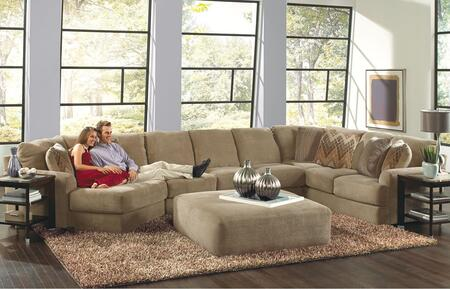 Malibu Collection 3239-92-30-72-2668-26/2669-26/2683-28 188 inch  3-Piece Sectional with Left Arm Facing Piano Wedge  Armless Sofa and Right Arm Facing Section with