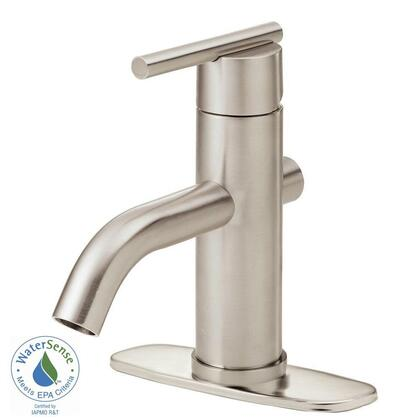 D225558BN Parma 4 in. Single-Handle Bathroom Faucet in Brushed