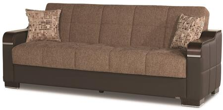 Uptown Collection UPTOWN SOFABED BROWN 05-370 86