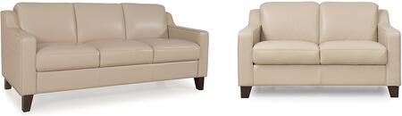 Cora Collection 34903MS1294SL 2-Piece Living Room Set with Sofa and Loveseat in