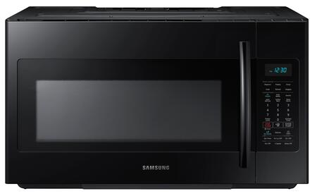 "ME18H704SFB 30"" Over The Range Microwave Oven with 1.8 cu. ft. Capacity  1000 Cooking Watts  10 Power Levels  Sensor Cooking Options  Ceramic Enamel Interior"
