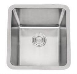 AS133 18x16 Stainless Steel Single Bowl