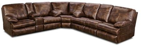 Miracle Saddle 50981-076353 3 Piece Set including Bonded Leather Wedge  Loveseat and Double Motion sofa with Stitched Detailing in