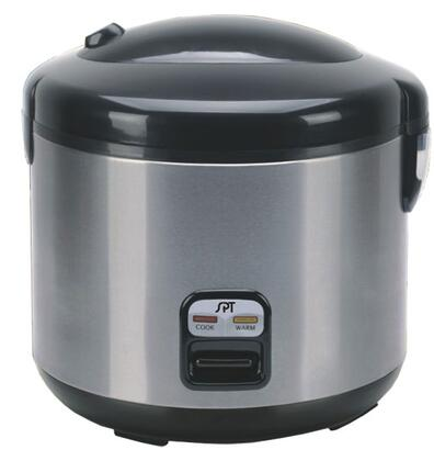 SC-1202SS 6 Cups Rice Cooker With Easy One-Button Operation  Cool Touch Exterior  Safety Lock Button & 3-Dimensional