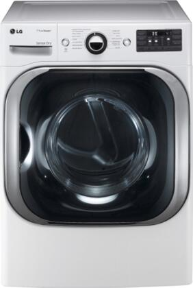 "DLGX8001W SteamDryer Series 9.0 cu. ft. Mega Capacity 29"" Wide Front Load Gas Steam Dryer  14 Drying Programs  5 Temperature Settings  TrueSteam Technology"