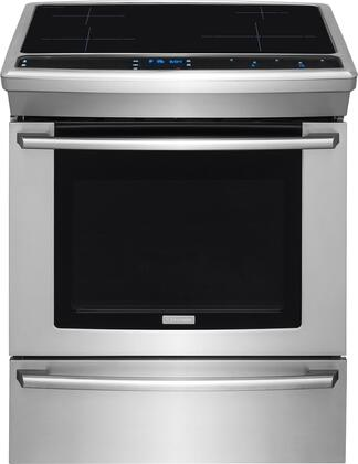 Electrolux EW30IS80RS 30 Induction Built-In Range with 4.6 cu. ft. Oven 4 Elements Perfect Taste Dual Convection Professional Temperature Control and Temperature Probe in Stainless